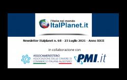 Newsletter ItalPlanet 23 luglio 2021